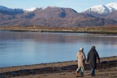 Winter Walk at Cuil Bay